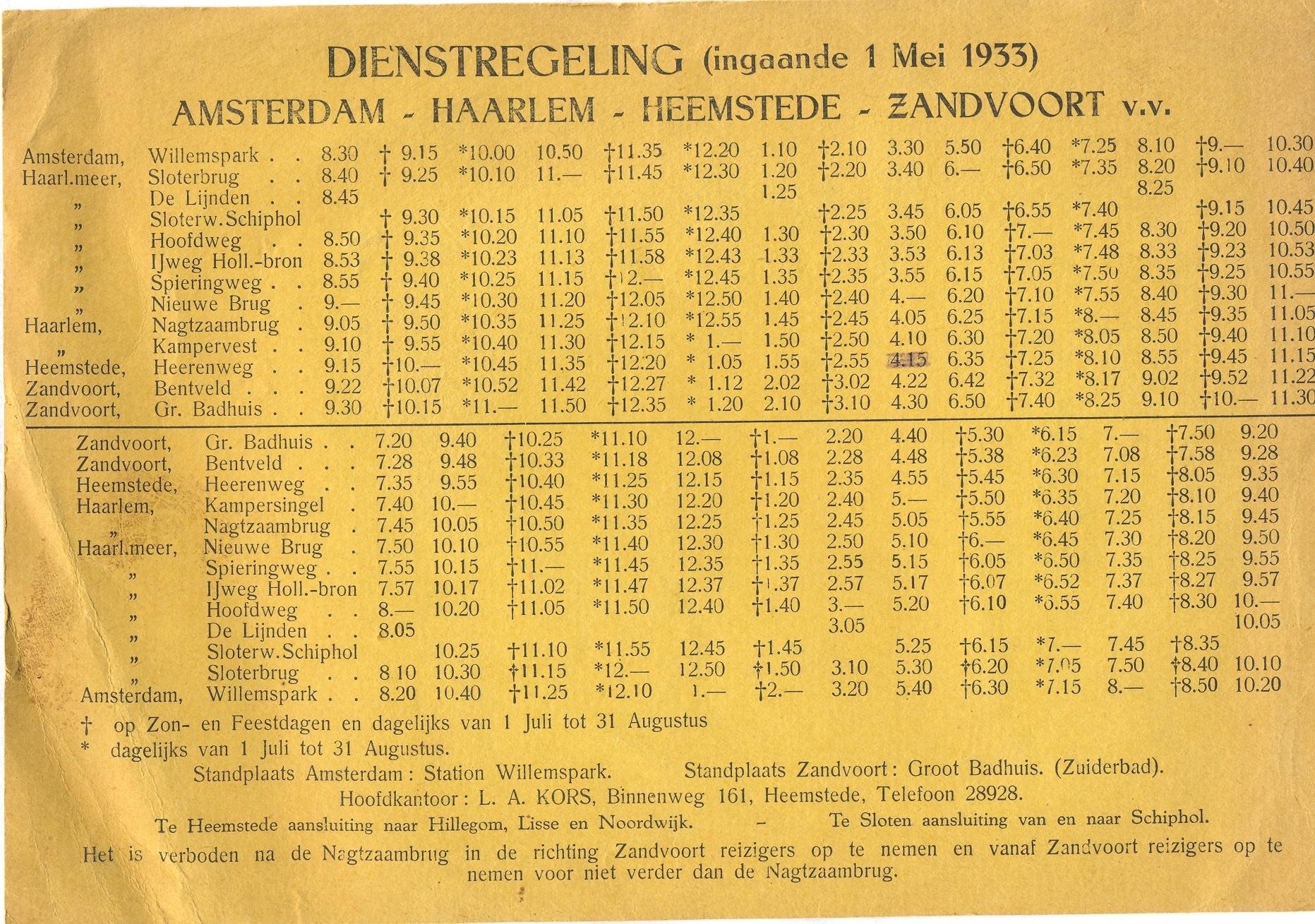 dienstregeling-1933
