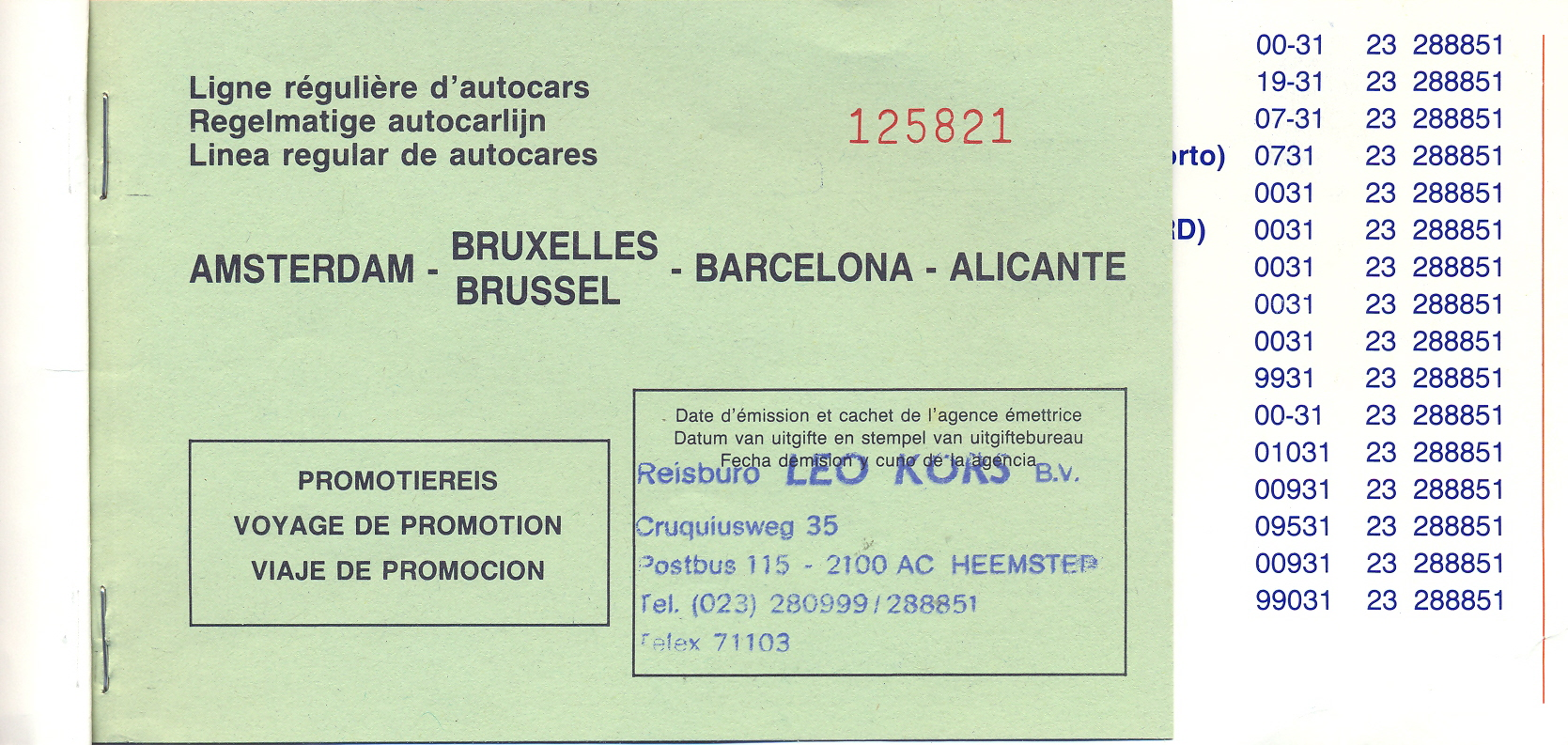 ticket-spanje-jaren-80